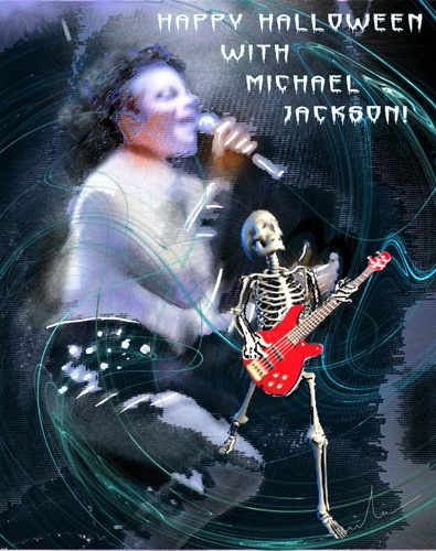 Halloween with Michael Jackson WP