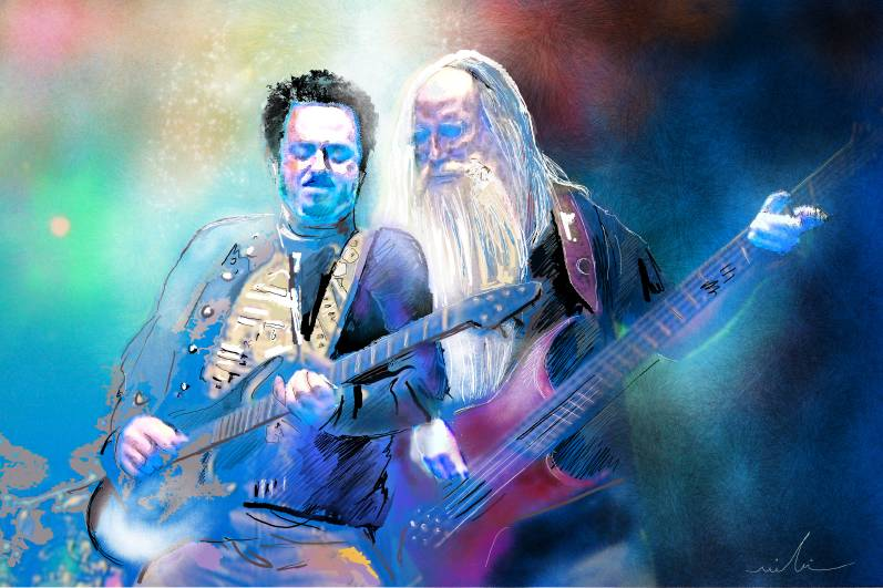 Steve Lukather and Leland Sklar from Toto S